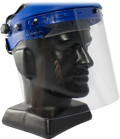 Faceshield Replacement Clear 8x15.5x.04