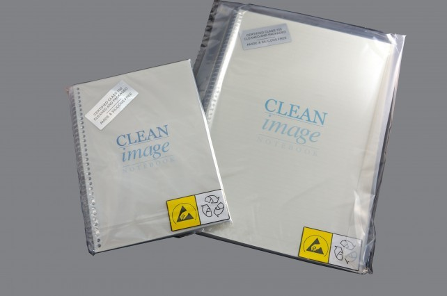 Notebook Cleanroom 5.5x8.5 Side Spiral/CollRuled 20/CS