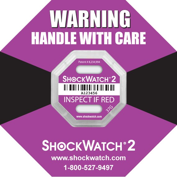 Shock Watch 2: Serialized Rating 37G Purple 100/BX