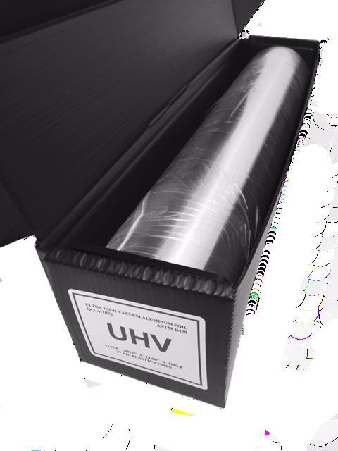 "Foil .0015x4""x500' Linear Feet Cleanroom UHV Aluminum"