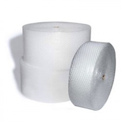 "Small Bubble Wrap - 3/16"", Clear, Perforated"