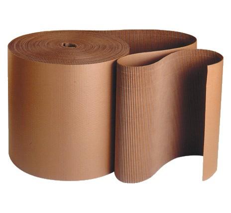 Kraft Singleface Corrugated Wrap