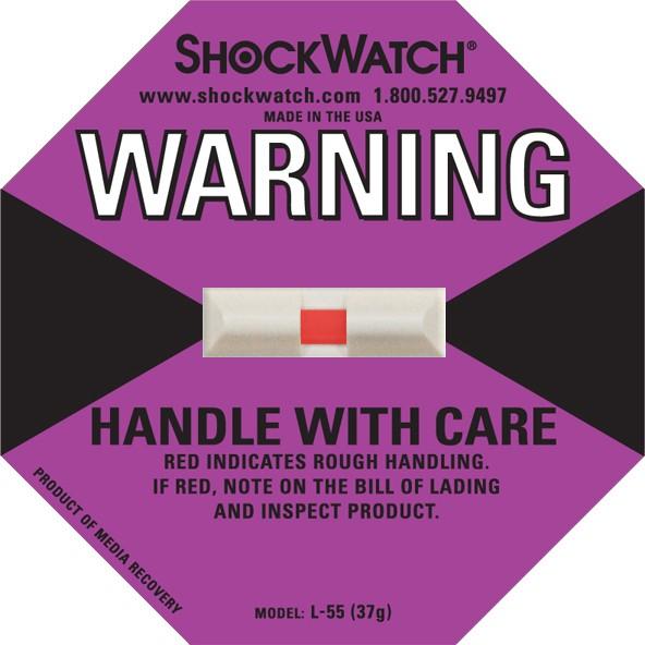 Shockwatch 37G Rating Purple No Logo Shockwatch 50/BX