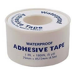 "Tape First Aid 1""x5yds Waterproof Latex Free 1/BX 210/CS"