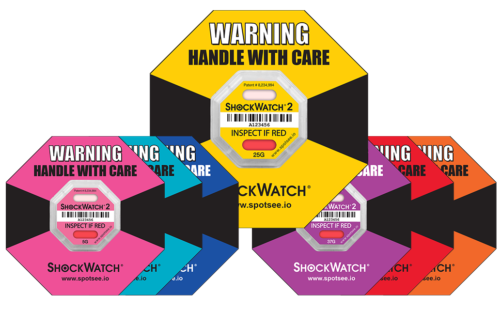 Shock Watch 2: Serialized Rating Pink 5G 100/BX
