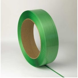 Strapping Polyester .75x.050x2400' 2400# Green 16x6 28/PLT