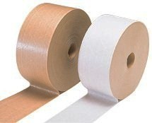 Tape Reinforced Paper 3x450' White Water Activated 10RL/CS