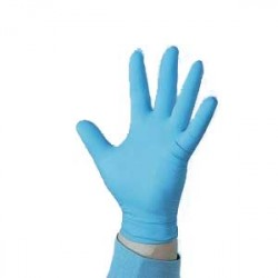 Gloves Nitrile Industrial Blue Powder Free (1,000 per case)