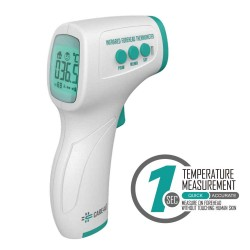 Digital Infrared Thermometer No-Touch TRI-COLOR English Box/English Manual
