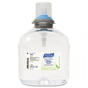 Hand Sanitizer 1200ml Purell Bottles 2/CS