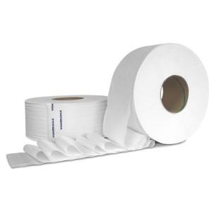 Tissue Toilet 3.15x1000' 2Ply JRT 12RL/CS 48/PLT (TUG9100)
