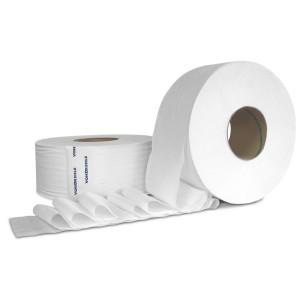 Tissue Toilet 3.6x1000' 2Ply JRT 12RL/CS 48/PLT