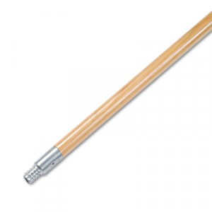 "Broom Handle .9375x60"" Metal-Tip Threaded End"