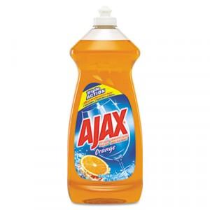 Dish Detergent, Antibacterial, Orange, 30 oz Bottle, 9/Carton