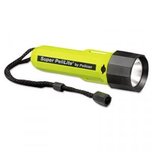 PeliLite 1800 Flashlight, On/Off, 2C, Yellow