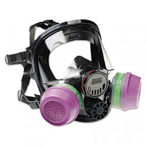 7600 Series Full-Facepiece Respirator Mask, Medium/Large