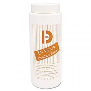 D-Vour Absorbent Powder, Canister, Lemon, 16 oz