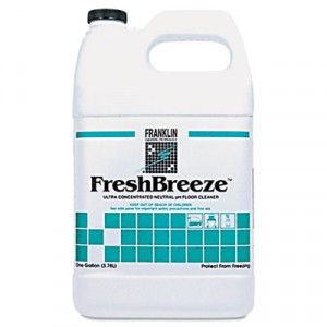 FreshBreeze Ultra Concentrated Neutral pH Cleaner, Citrus, Liquid, 1 gal. Bottle