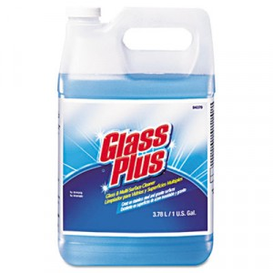 Cleaner Glass 1 Gallon Glass Plus Bottle 94379JD 4/CS 48/PLT