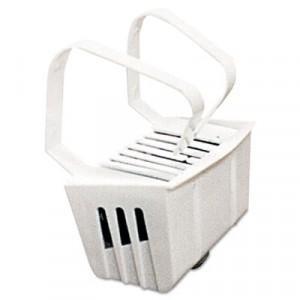 Non-Para Toilet Bowl Block, Lasts 30 Days, White, Evergreen Fragrance