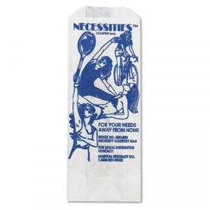 Liner For Individual Sanitary Napkin Disposal, 3x2x8, White, 500/Case
