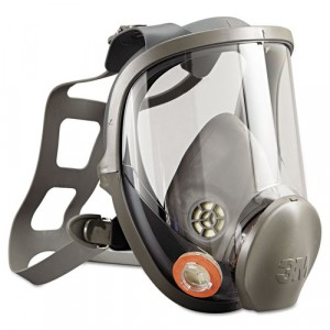 Full Facepiece Respirator 6000 Series, Reusable, Large