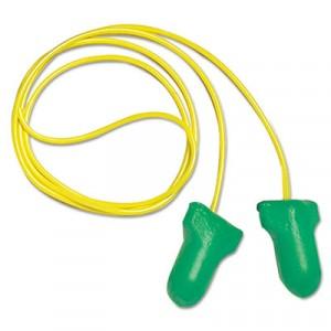 LPF-1-D Max Lite Single-Use Earplugs, Cordless, 30NRR, Green, LS 500 Refill