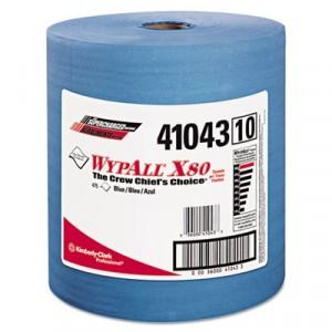Towel 12.5x13.4 WypAll X80 Jumbo Roll Blue 475Sheets/RL