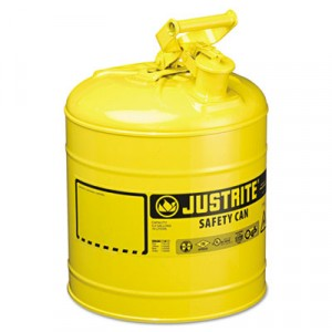 Safety Can, Type I, 5 Gal, Yellow