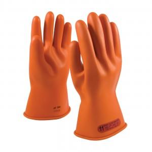 NOVAX, Insulating Glove, Class 0, 11 In., Orn., Straight Cuff
