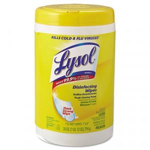 Wipes Disinfecting Lysol Citrus 110/CN 6/CS