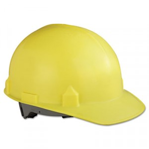 JACKSON SAFETY SC-6 Head Protection With Four-Point Suspension, Yellow