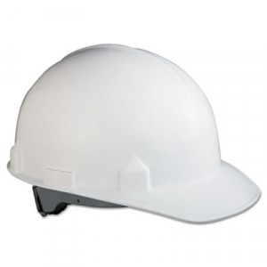 JACKSON SAFETY SC-6 Head Protection With Four-Point Suspension, White