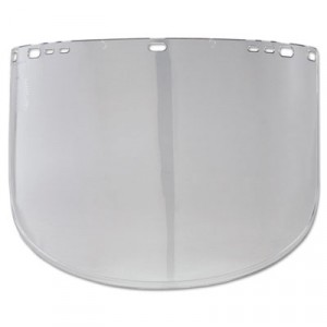 JACKSON SAFETY F40 Face Shield Window, Propionate, Clear, Unbound