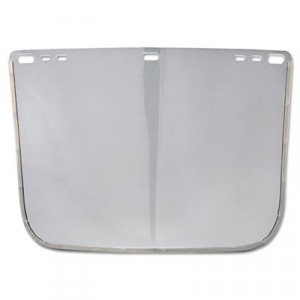 "JACKSON SAFETY F30 Face Shield Window, 12"" x 8"", Clear, Unbound"