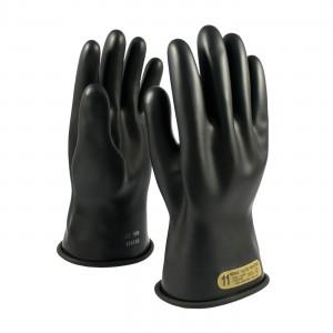 NOVAX Insulating Glove, Class 00, 11 In., Blk., Straight Cuff