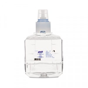Advanced Instant Hand Sanitizer Foam, LTX-12 1200 ml Refill, Clear