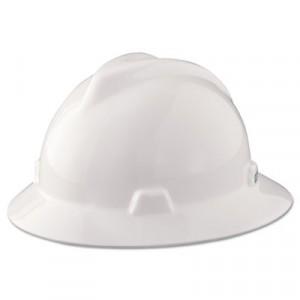 V-Gard Hard Hats, Staz-On Pin-Lock Suspension, White