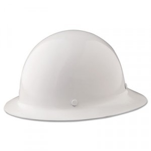Skullgard Protective Hard Hats, Fas-Trac Ratchet Suspension, White
