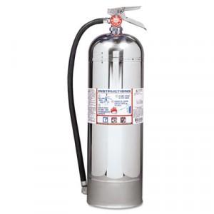 Pro Plus Line Pro 2.5 W Fire Extinguisher, 2-A, 100psi, 24.75h x 7dia, 2.5gal