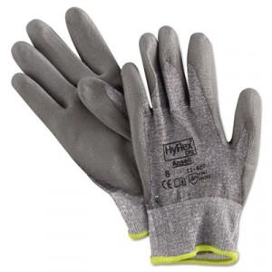 HyFlex 627 Light-Duty Gloves, Size 8 (Medium), Dyneema/Lycra/Polyurethane, Gray