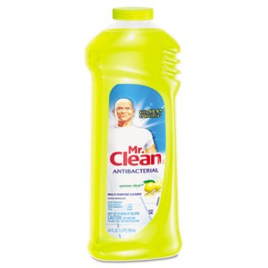 Multi-Surface Antibacterial Cleaner, Summer Citrus, 24oz Bottle