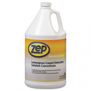 Carpet Extraction Cleaner, Lemongrass, 1 Gal Bottle