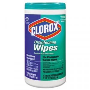 Wipe Clorox Disinfecting Fresh Scent 75 wipes 6/CS