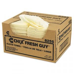 Fresh Guy Towels, 13 1/2x13 1/2, Yellow