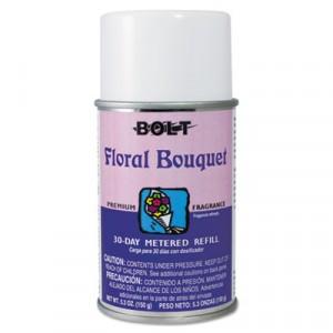 Air Freshener Metered Aerosol Floral Bouqet 30 Days 12/CS