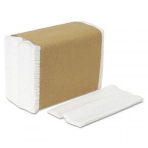 Tall Fold Napkins, 1-Ply, 7x13-1/2, White