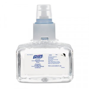 Advanced Instant Hand Sanitizer Foam, 700mL Refill, Unscented