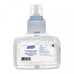 Advanced Green Certified Instant Hand Sanitizer, Gel, 700mL Refill, Unscented