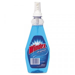 Windex 12oz Glass Cleaner Spray Bottle 12/CS